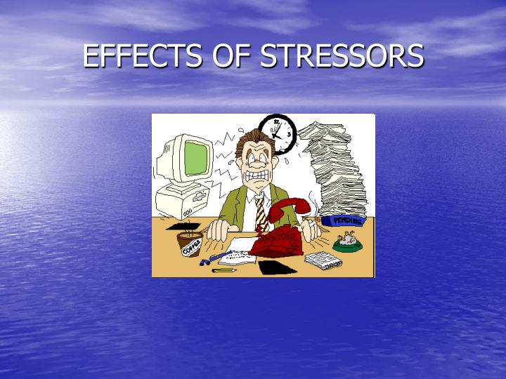 EFFECTS OF STRESSORS