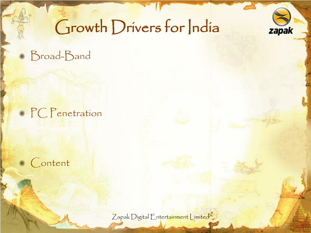 Growth Drivers for India