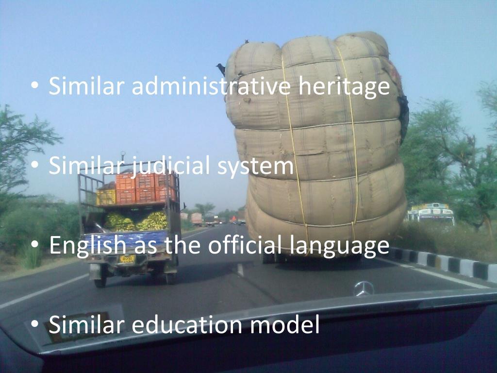 Similar administrative heritage