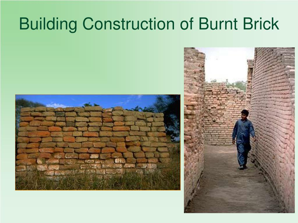 Building Construction of Burnt Brick
