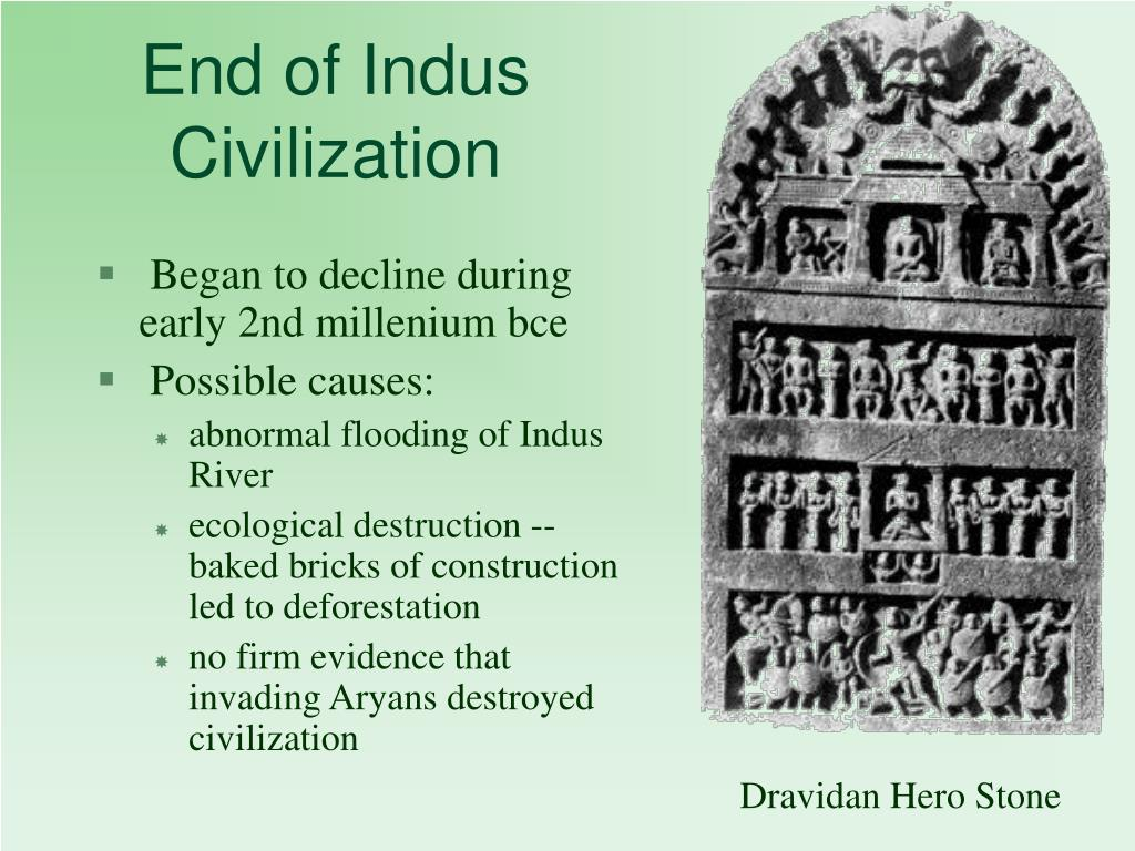 End of Indus Civilization
