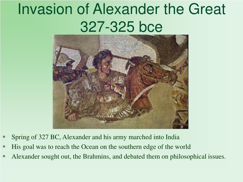 Invasion of Alexander the Great