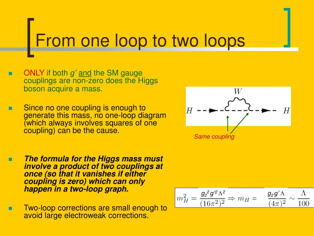 From one loop to two loops