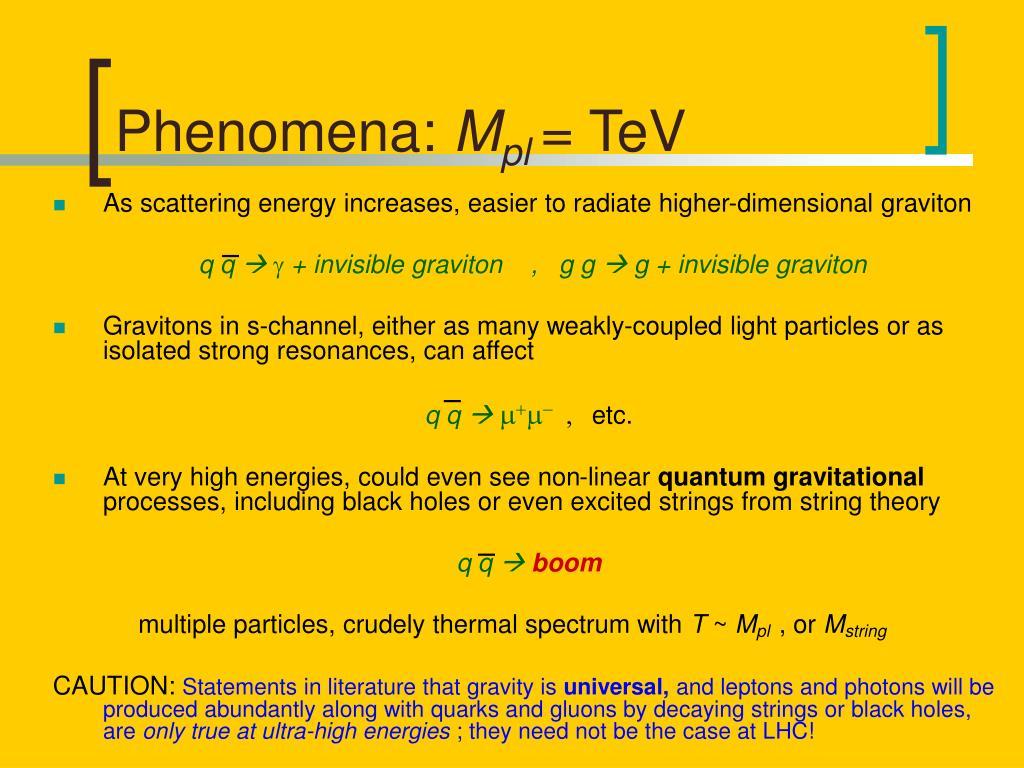 Phenomena: