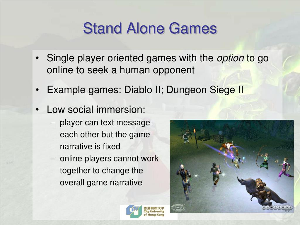 Stand Alone Games