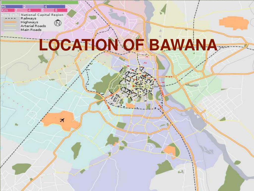 LOCATION OF BAWANA