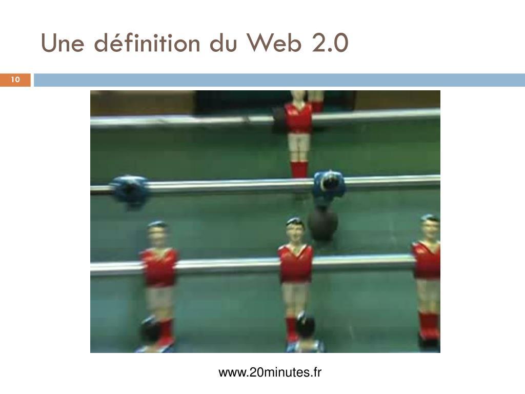 Une définition du Web 2.0