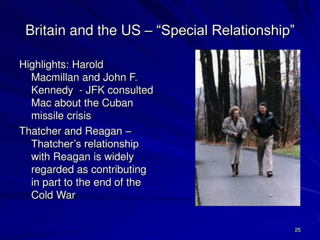 """Britain and the US – """"Special Relationship"""""""