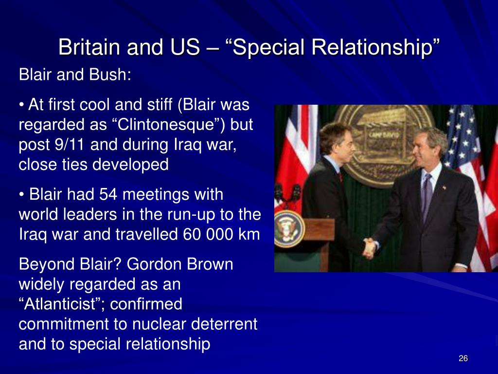 """Britain and US – """"Special Relationship"""""""