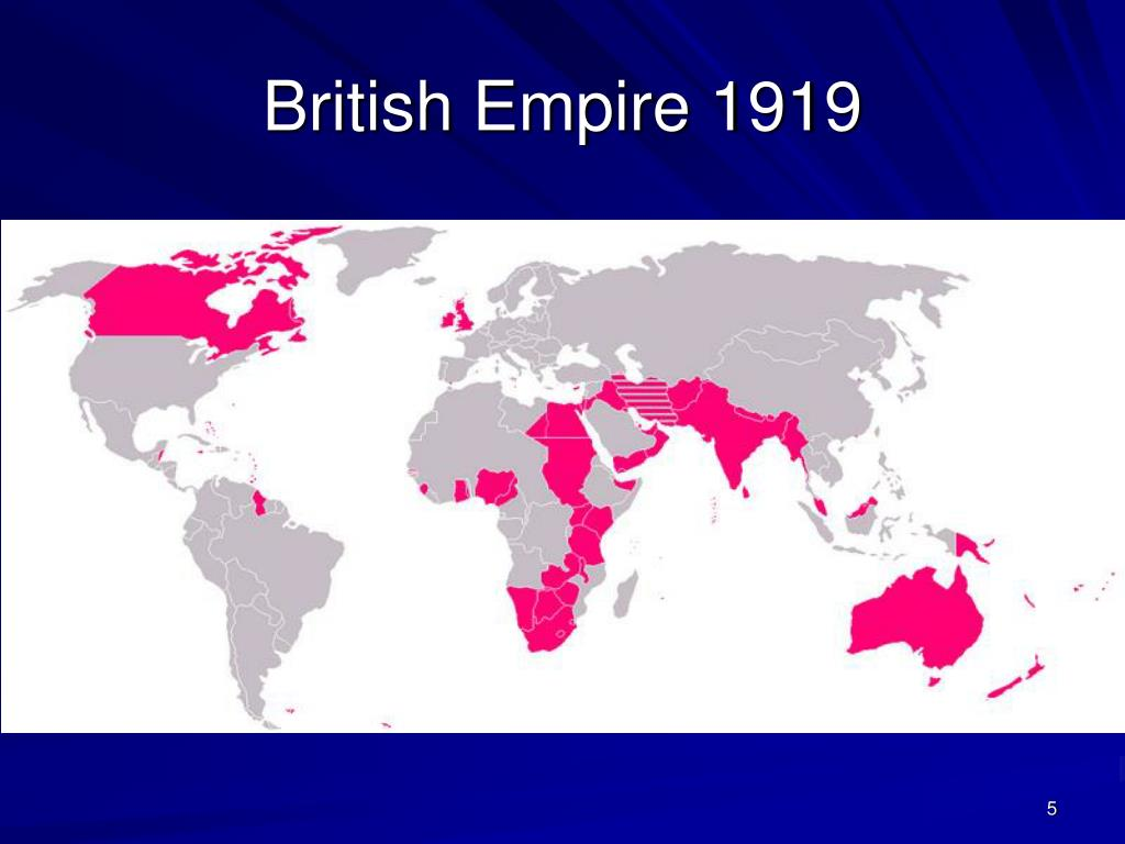 British Empire 1919