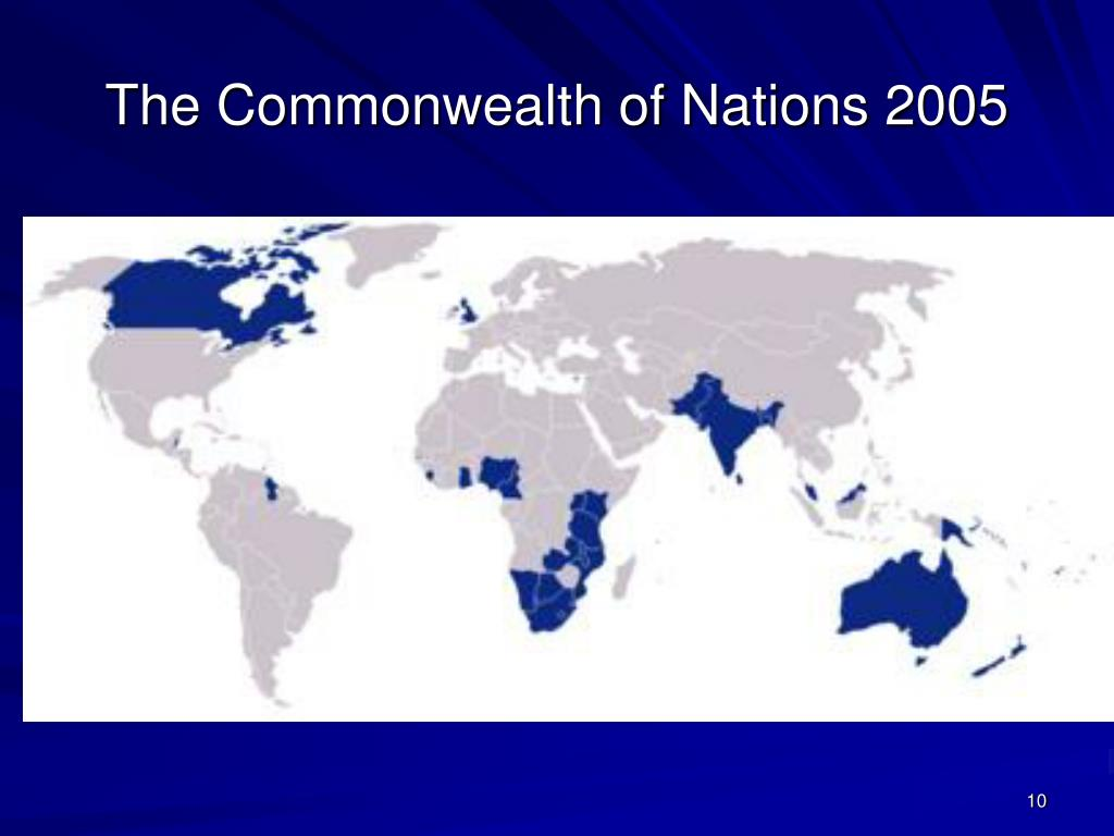 The Commonwealth of Nations 2005