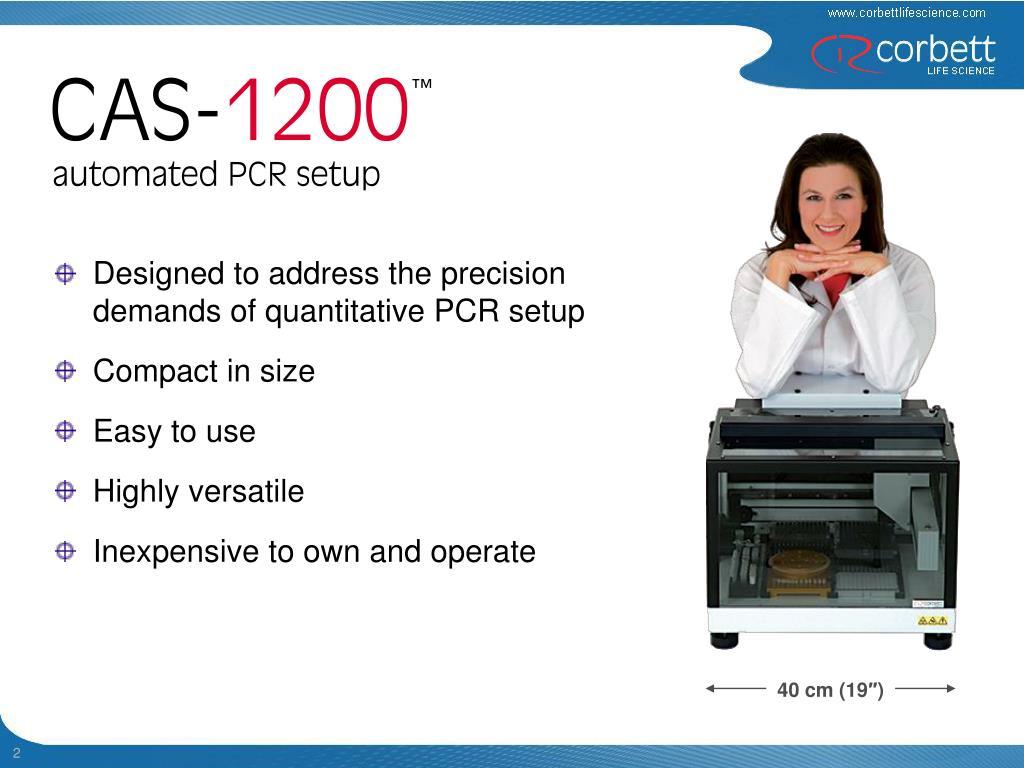 Designed to address the precision demands of quantitative PCR setup