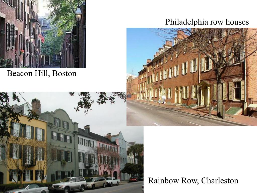 Philadelphia row houses