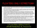 floaters only vitrectomy