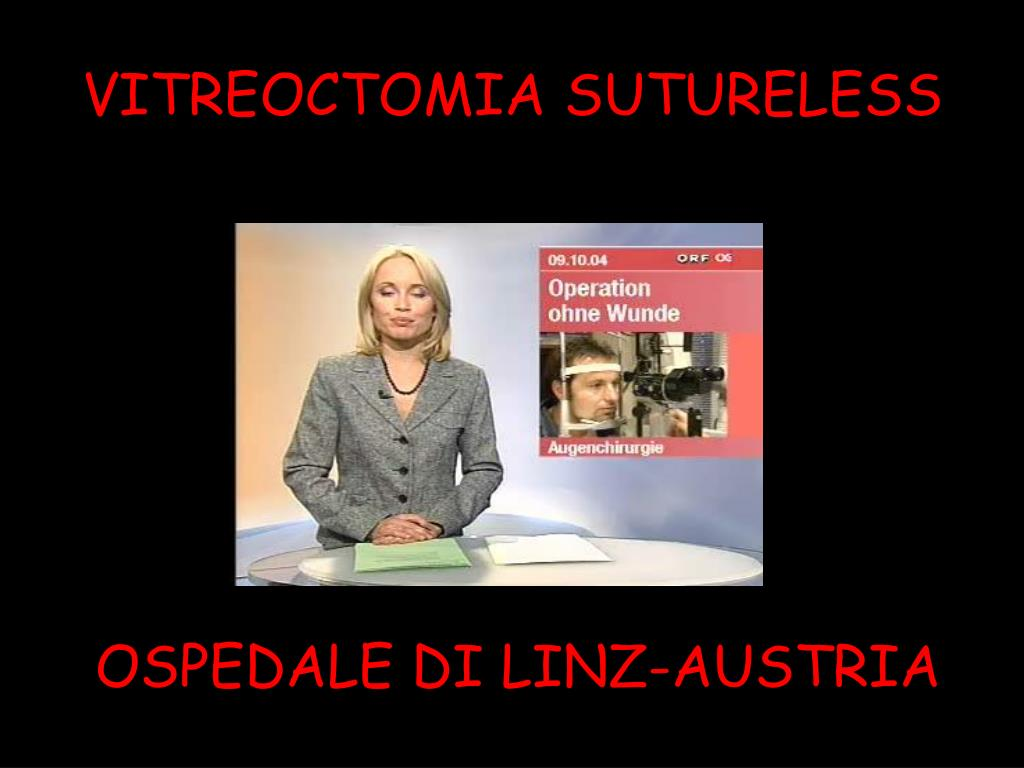 VITREOCTOMIA SUTURELESS
