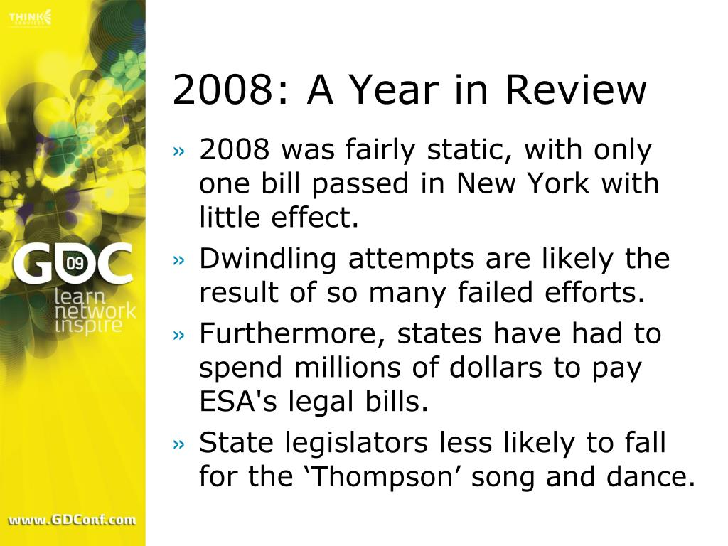 2008: A Year in Review