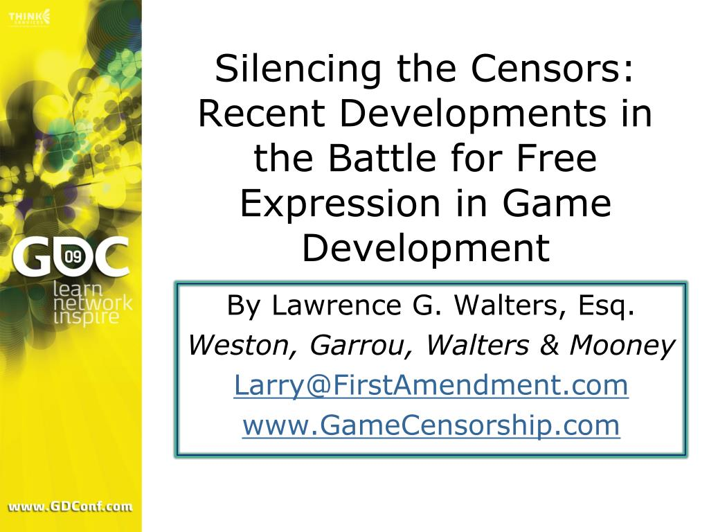 Silencing the Censors: Recent Developments in the Battle for Free Expression in Game Development