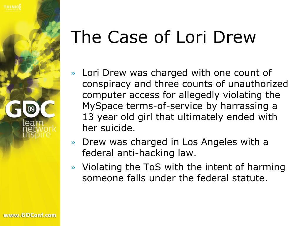 The Case of Lori Drew