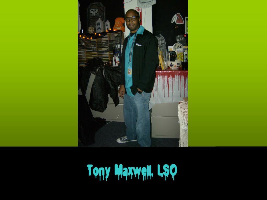 Tony Maxwell