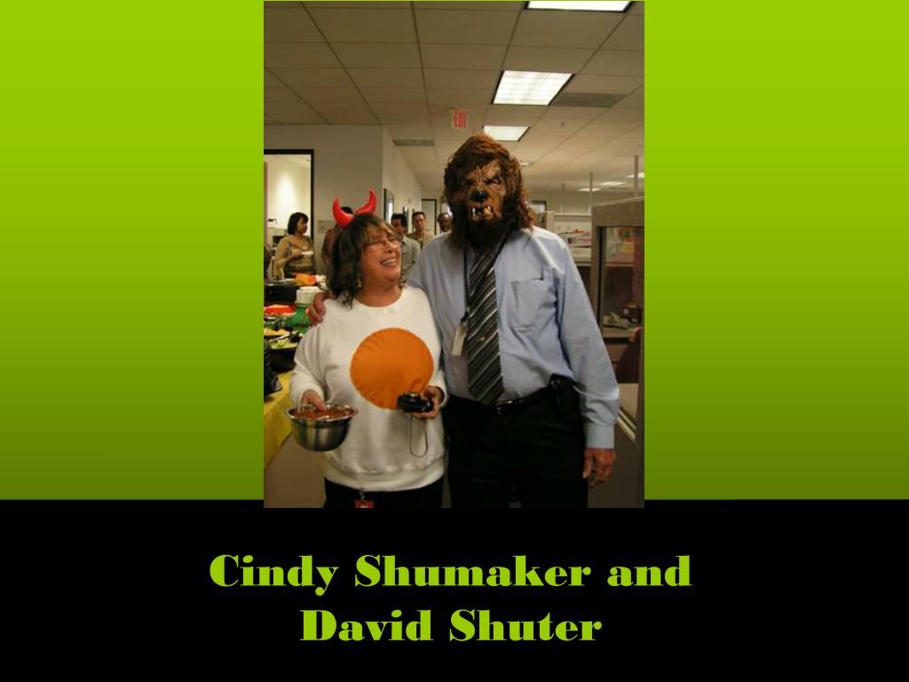 Cindy Shumaker and David Shuter