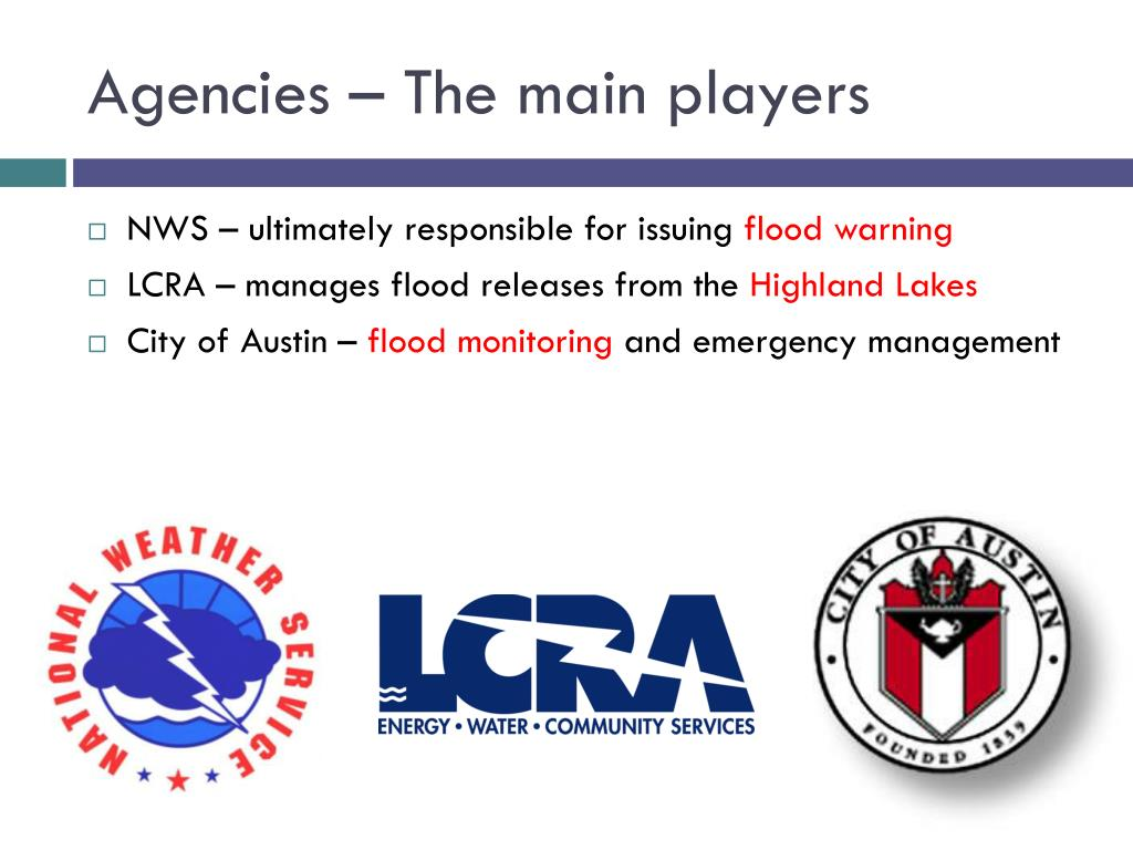 Agencies – The main players