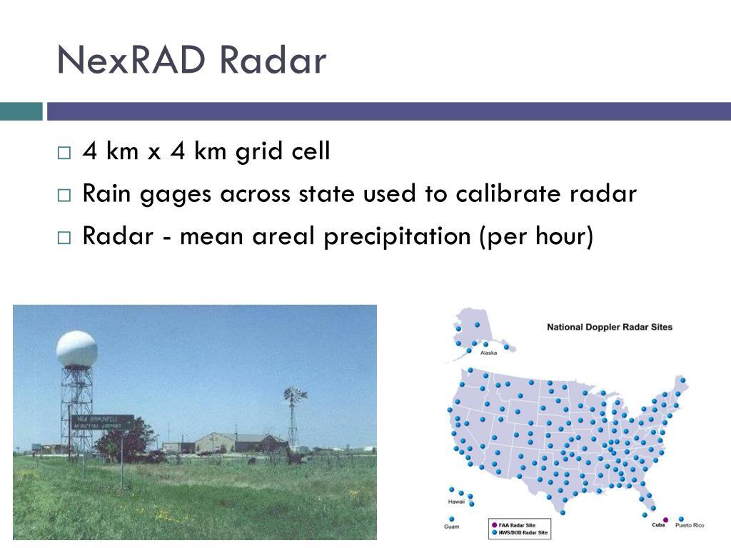 NexRAD Radar
