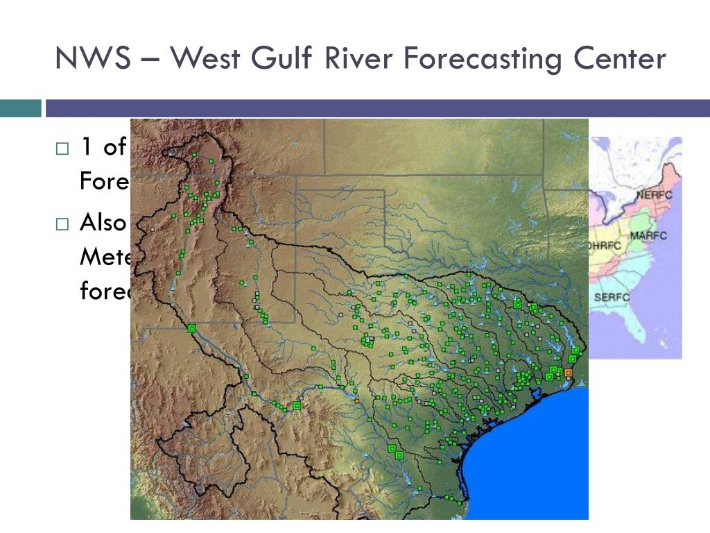 NWS – West Gulf River Forecasting Center
