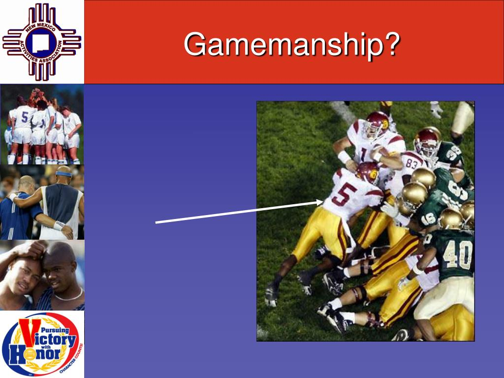 Gamemanship?