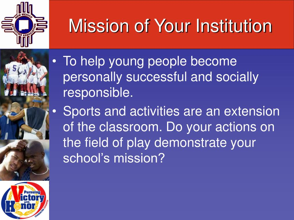 Mission of Your Institution