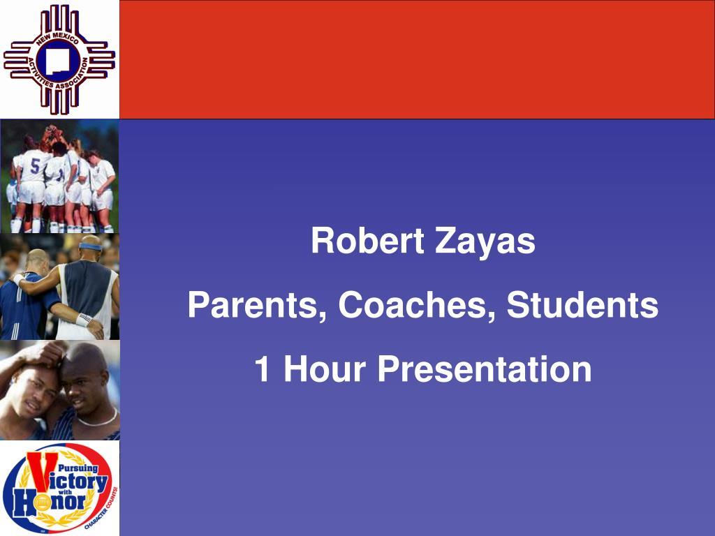 Robert Zayas