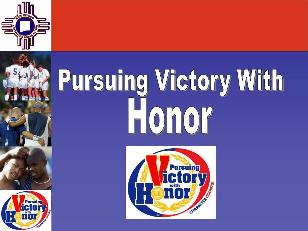 Pursuing Victory With
