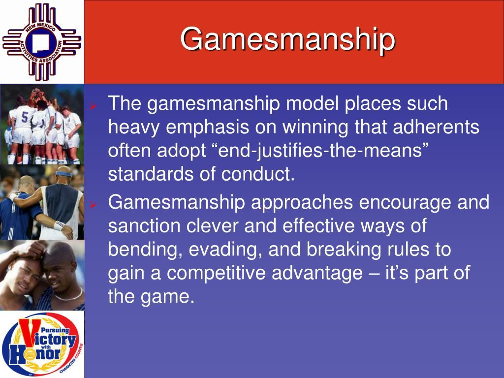 Gamesmanship