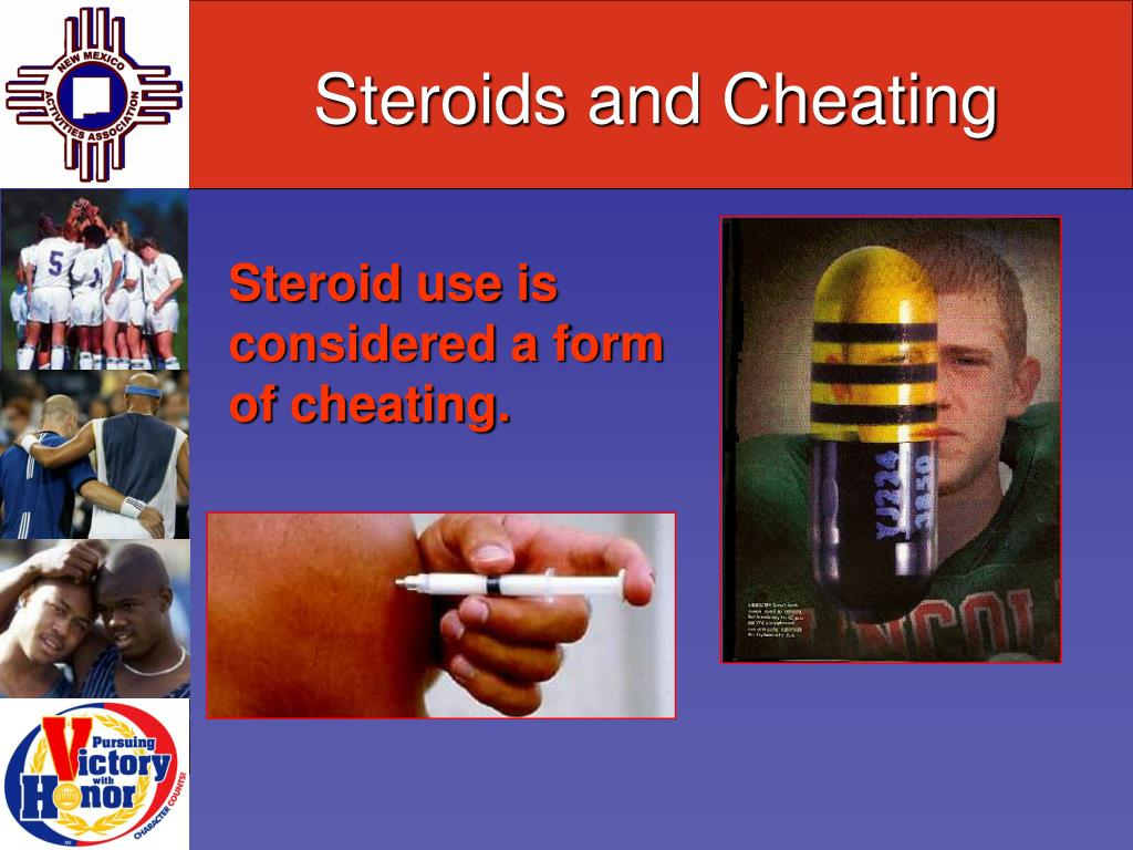 Steroids and Cheating
