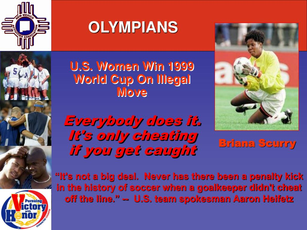 U.S. Women Win 1999 World Cup On Illegal Move