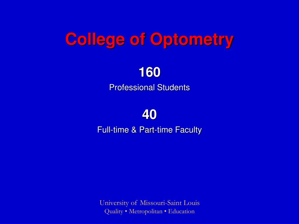 College of Optometry
