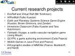 current research projects15