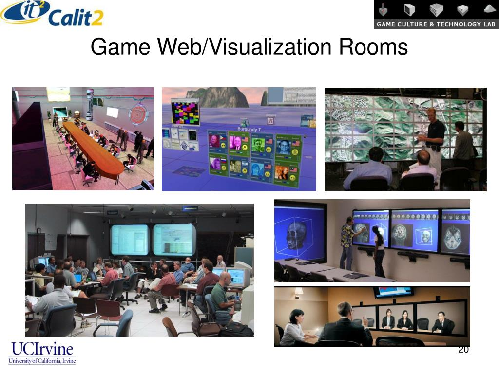 Game Web/Visualization Rooms