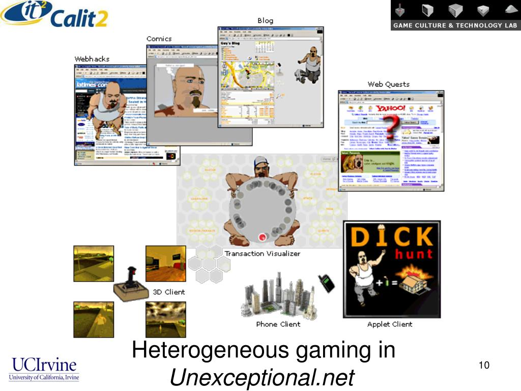 Heterogeneous gaming in