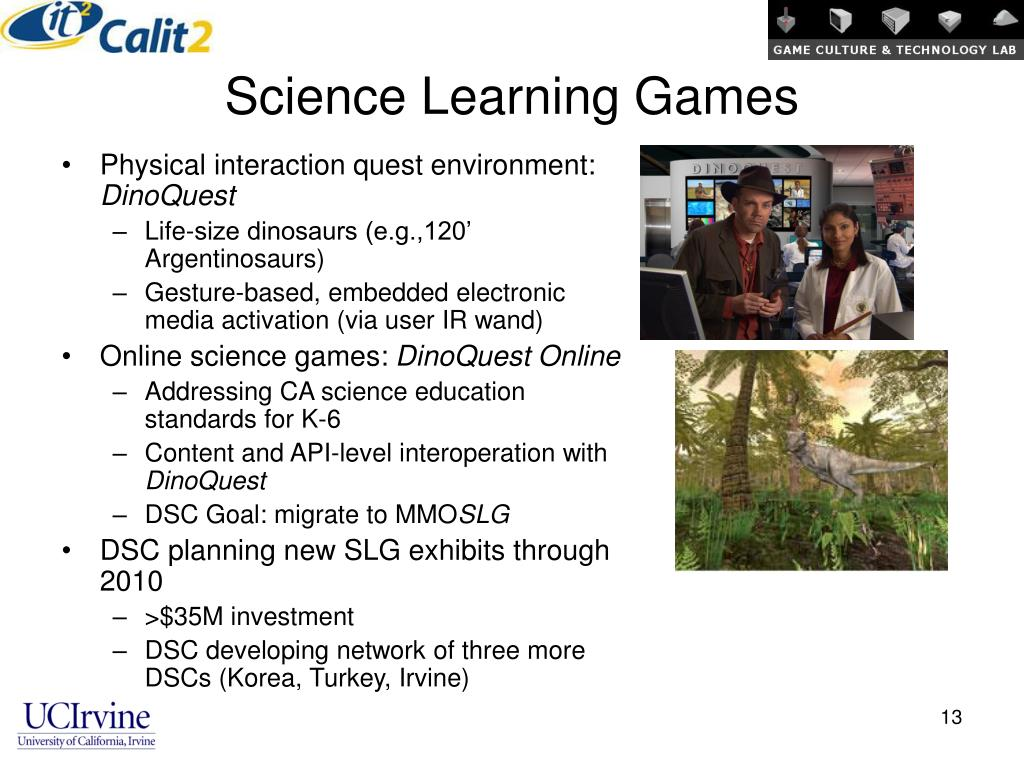 Science Learning Games