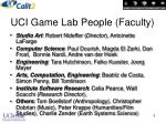uci game lab people faculty