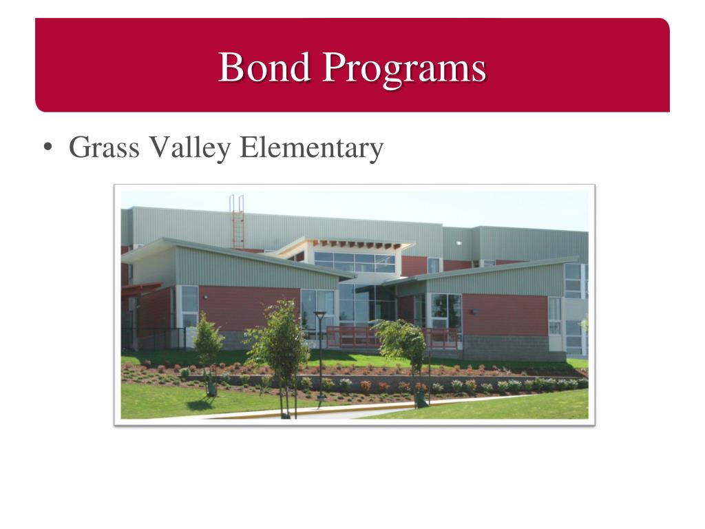 Bond Programs