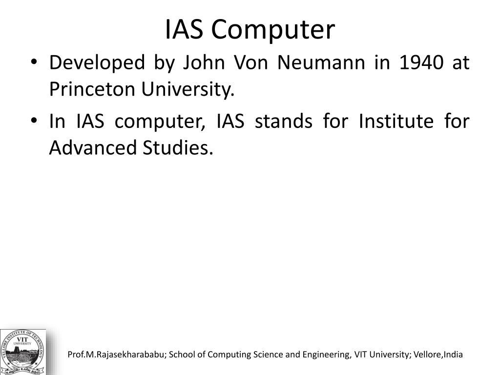 IAS Computer
