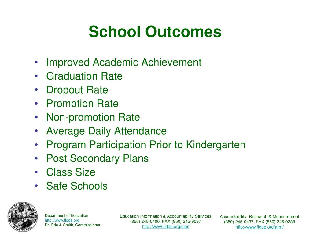 School Outcomes