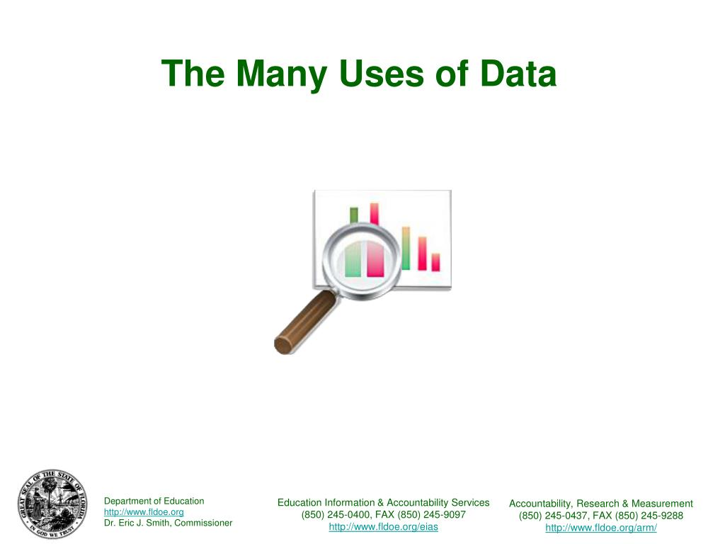 The Many Uses of Data
