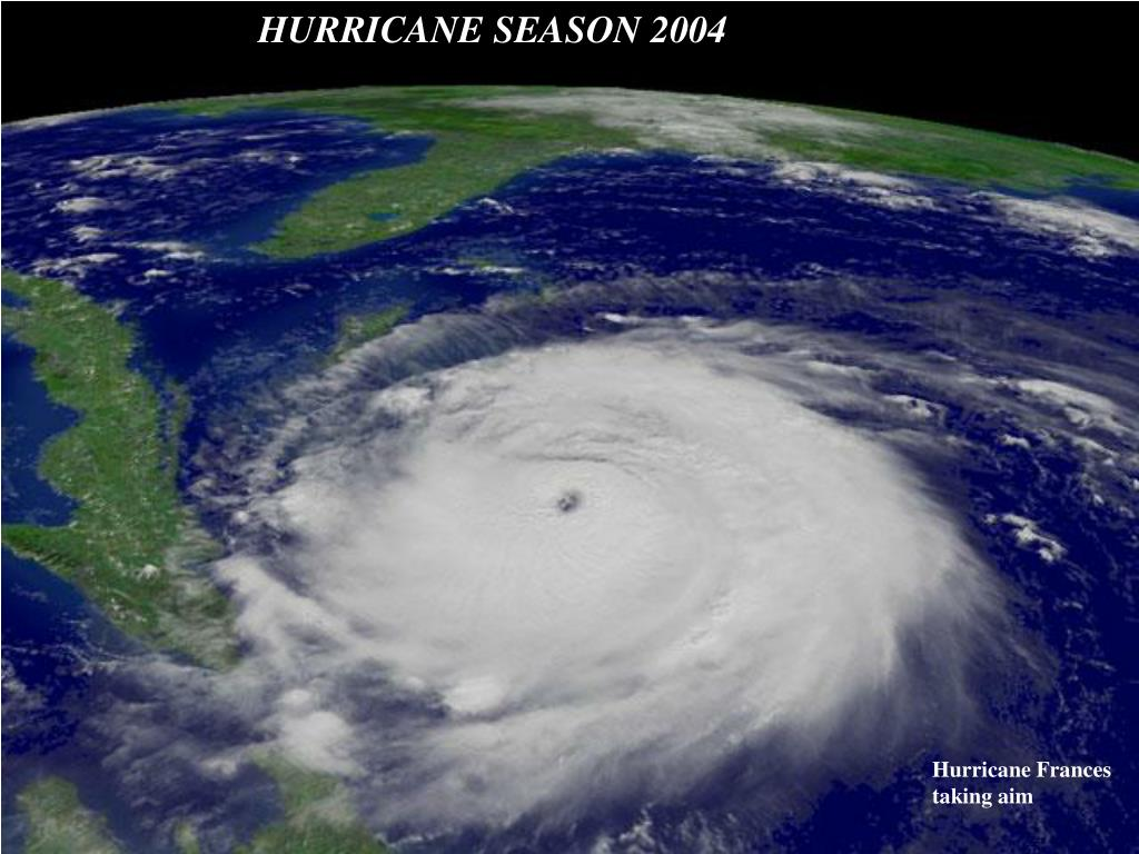 HURRICANE SEASON 2004