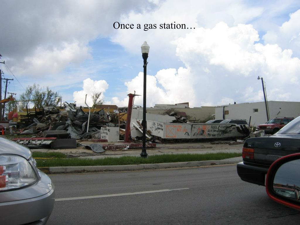 Once a gas station…
