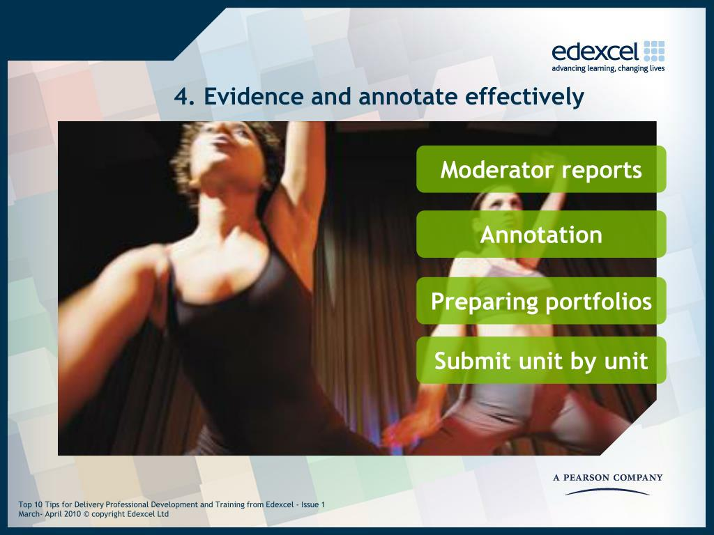 4. Evidence and annotate effectively