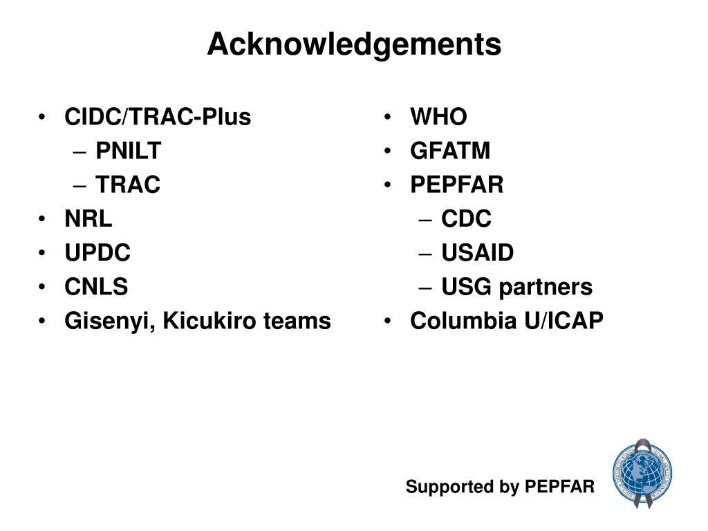 CIDC/TRAC-Plus