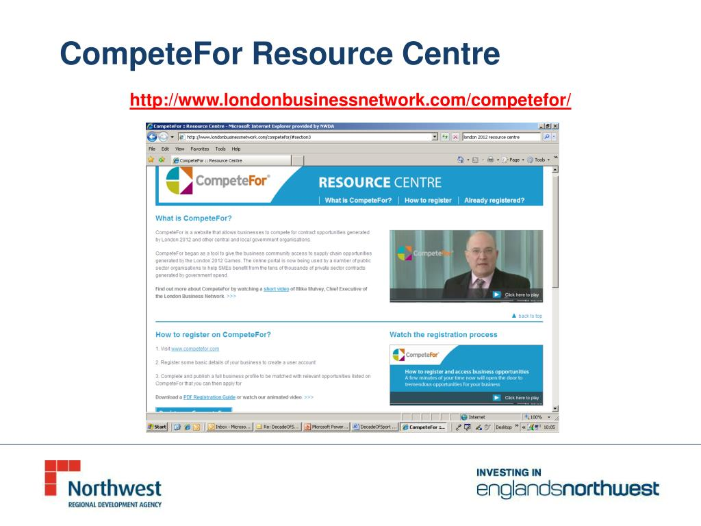 CompeteFor Resource Centre