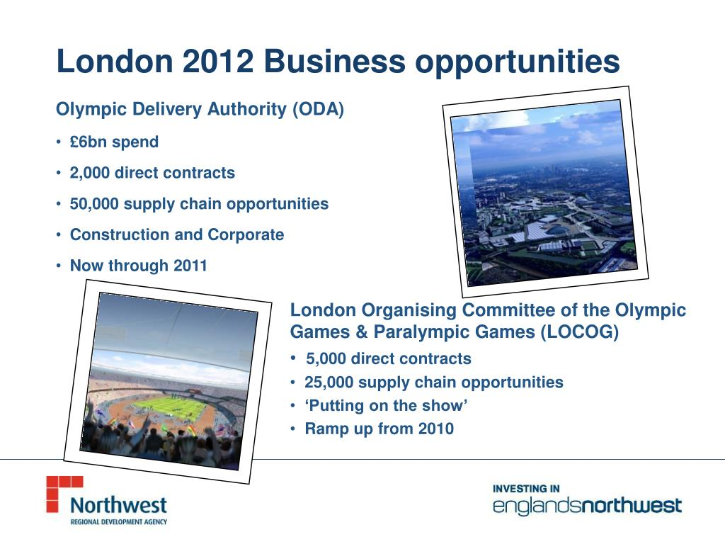 London 2012 Business opportunities